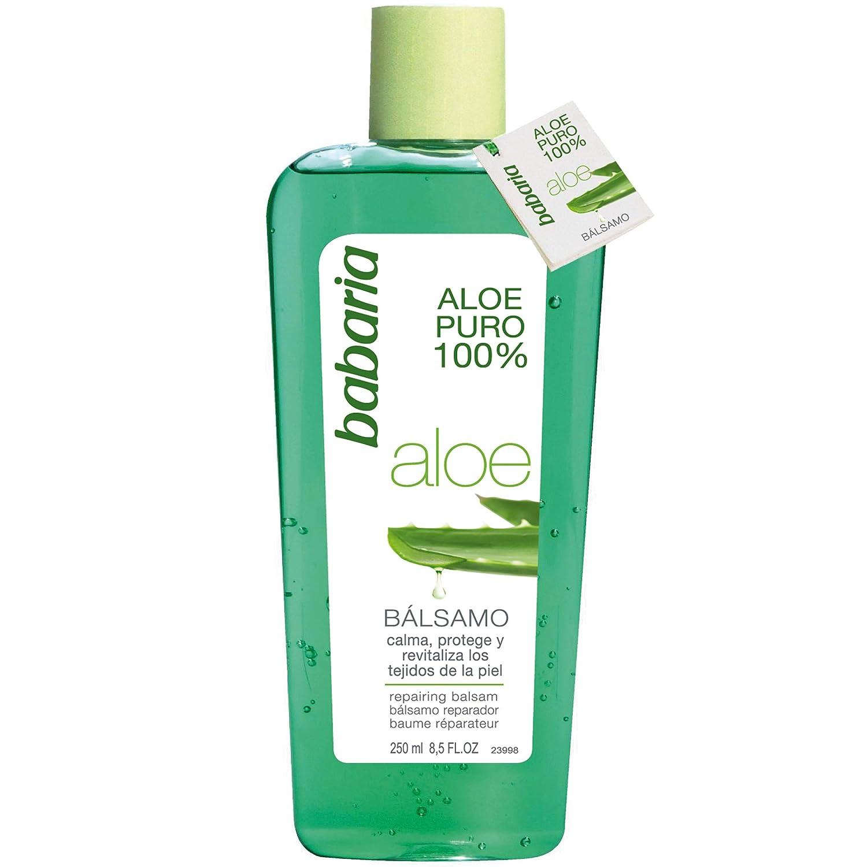 Babaria Naturals 100% Aloe Vera Repairing Balsam/After Sun Gel 250ml 8410412029209