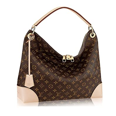 8fe697f461859 Authentic Louis Vuitton Monogram Canvas Berri MM Handbag Article M41625  Made in France  Handbags  Amazon.com