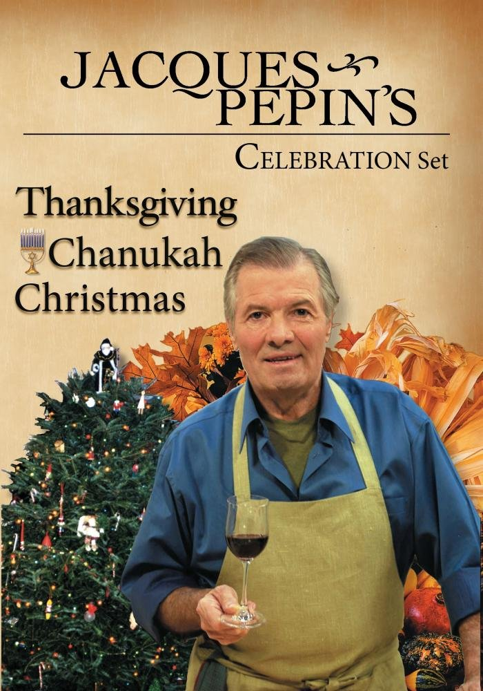 Jacques Pepin's Celebration Fall set of 3 by PBS