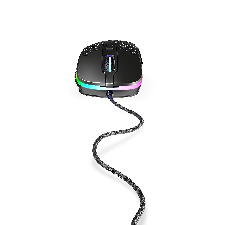 XTRFY M4 RGB Ultra-Light Gaming Mouse Black.