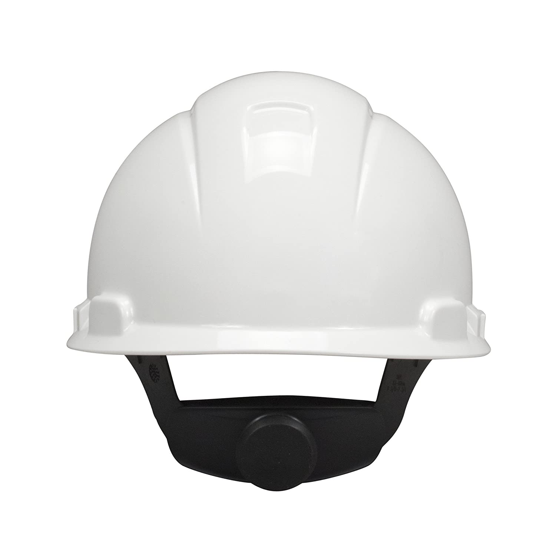 3 M h-700 V serie casco de protección Duro, hebilla ajustable de 4 puntos, con ventilación, White, blanco, 1: Amazon.es: Industria, empresas y ciencia