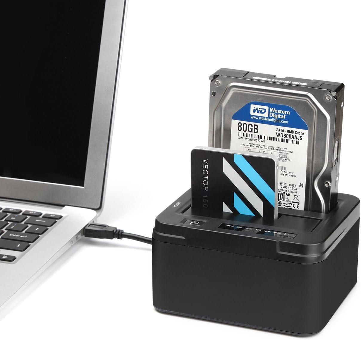 Bases de conexión para discos duros (Docking Station)
