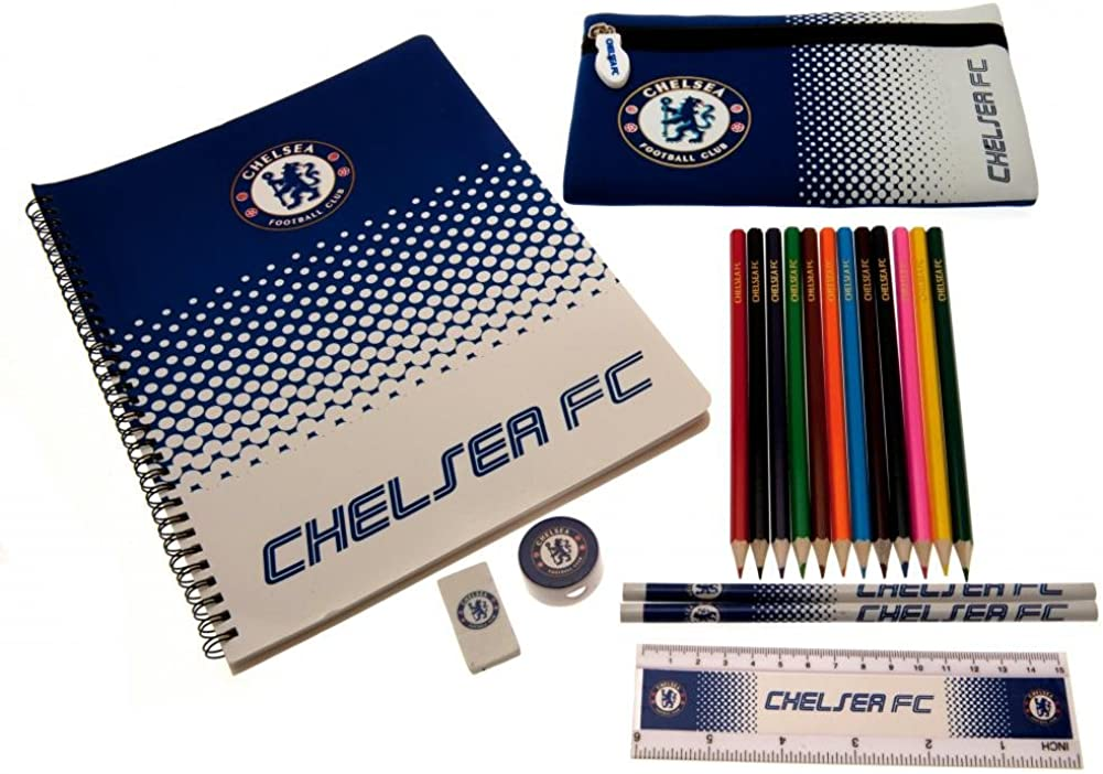 Chelsea FC Official Ultimate Stationery Set