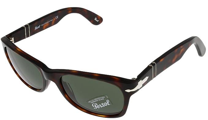fd308788b Image Unavailable. Image not available for. Colour: Persol Sunglasses  Unisex Havana PO 2953-S 24/31 Wayfarer
