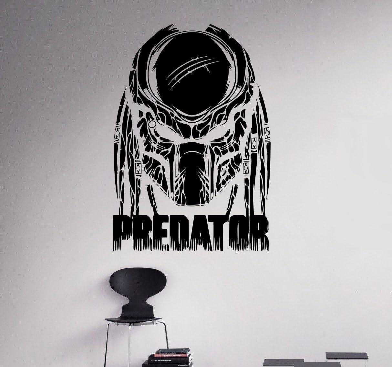Predator Movie Wall Decal Cosmic Monster Wall Vinyl Sticker Horror Film Home Interior Removable Decor Custom Decals 19(avp)