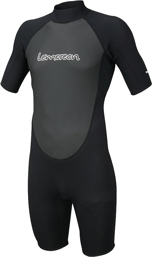 Lemorecn Adult/'s 3mm Wetsuits Jacket Long Sleeve Neoprene Wetsuits Top