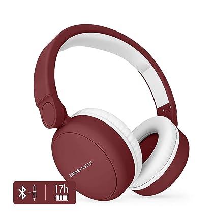 Energy Sistem Headphones 2 - Auriculares con Bluetooth (Over-Ear, Audio-In
