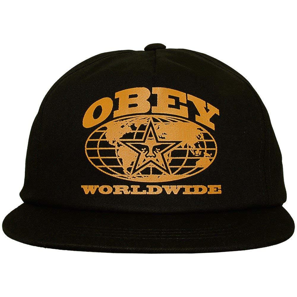 Obey - Gorra de béisbol - para Hombre Negro Negro Talla única ...