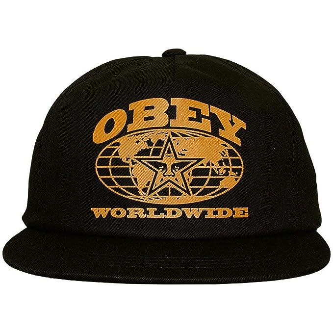 Obey - Gorra de béisbol - para hombre Negro negro talla única regulable: Amazon.es: Ropa y accesorios