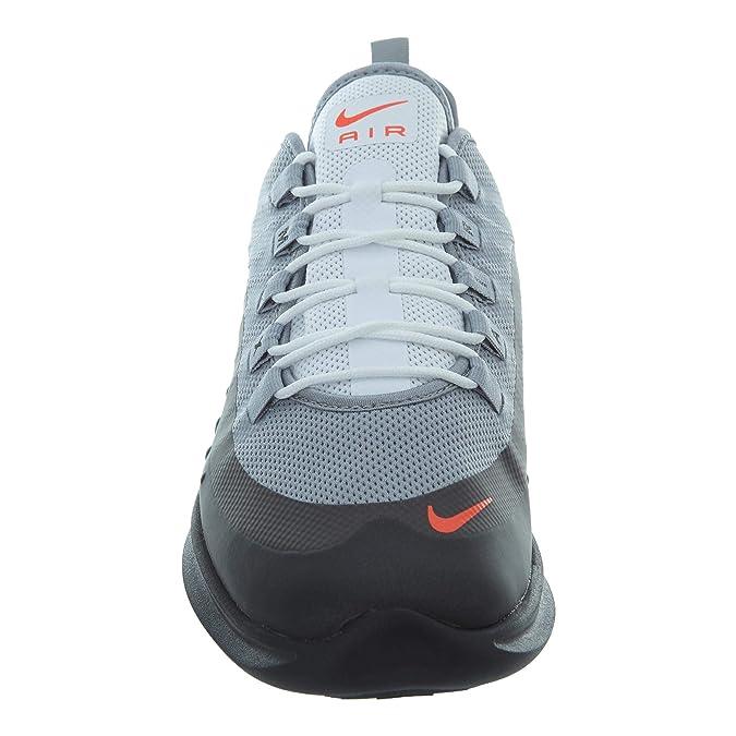 Nike Men's Air Max Axis Running Shoe, Wolf GreyTotal CrimsonBlackAnthracite, Size 9.5