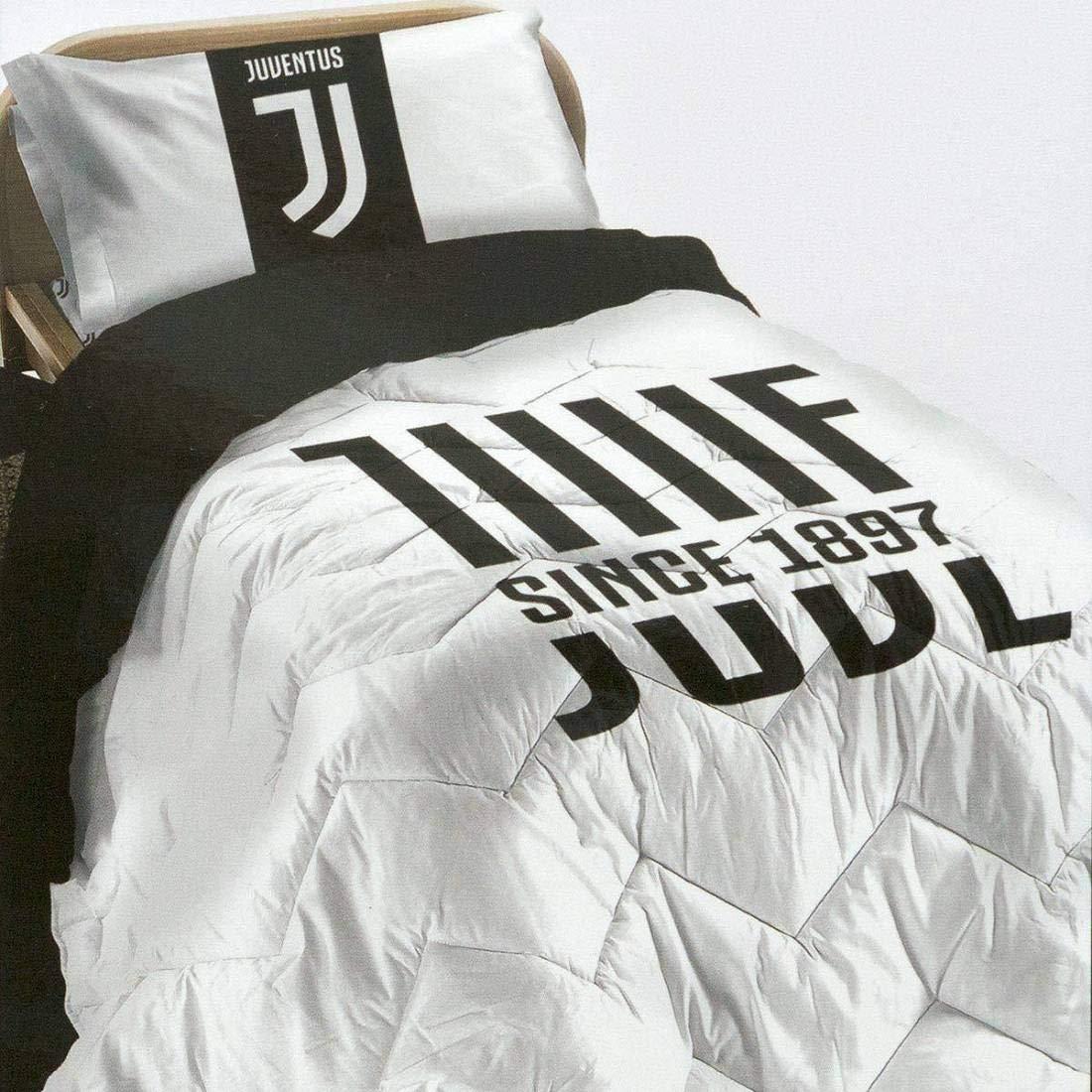 Steppdecke für Einzelbett, Juventus FC Original, 170 x 260 cm