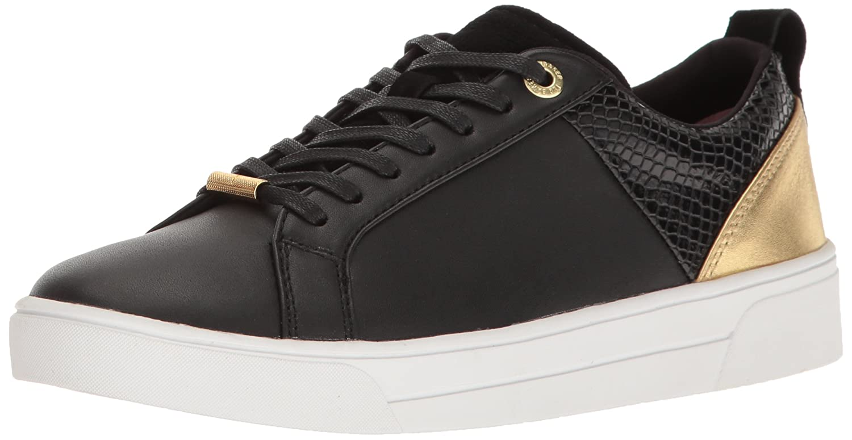 Ted Baker Women's Kulei Lthr AF Sports Shoe B01LXXZ9ZO 9 B(M) US Black/Rose Gold