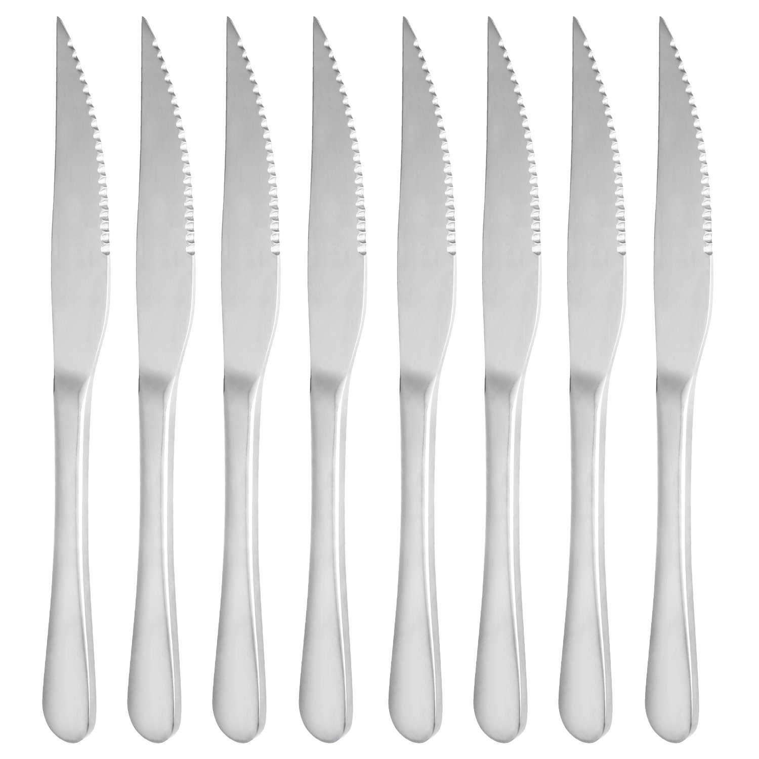 Dinner Forks, MCIRCO 8-piece Stainless Steel Dinner Forks Tableware Set(Dinner Fork) by Mcirco Fork-Set-L