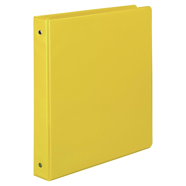 Samsill 1 Inch Value Document Storage 3 Ring Binder, Round