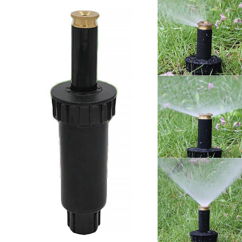 syst/ème darrosage de jardin 90 degrees Noir Arroseurs de pulv/érisation buse dirrigation automatique r/étractable 90//180//360 degr/és buse de pulv/érisation r/églable