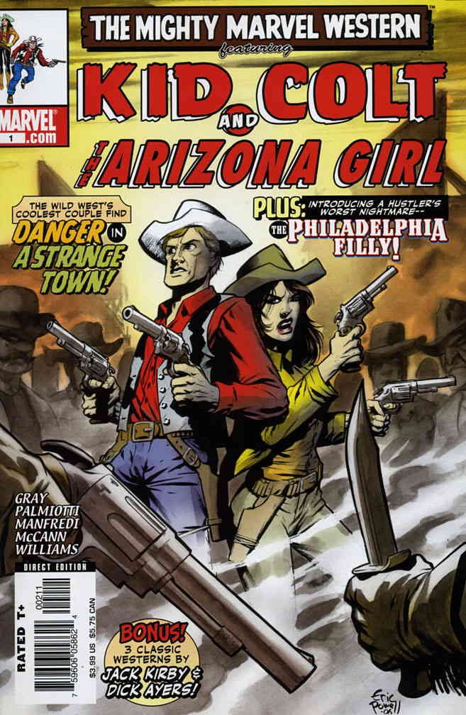 Marvel Westerns: Kid Colt and The Arizona Girl #1 VF ; Marvel comic book