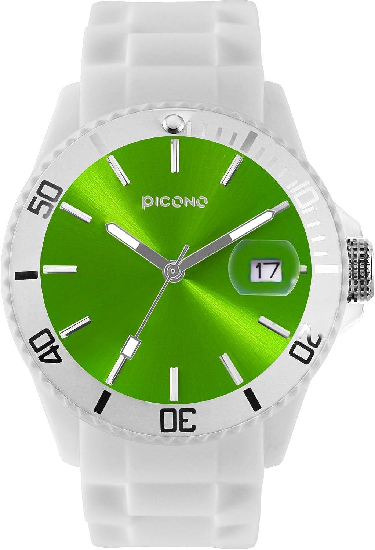 PICONO Balloon Water Resistant Analog Quartz Watch - Apple Green