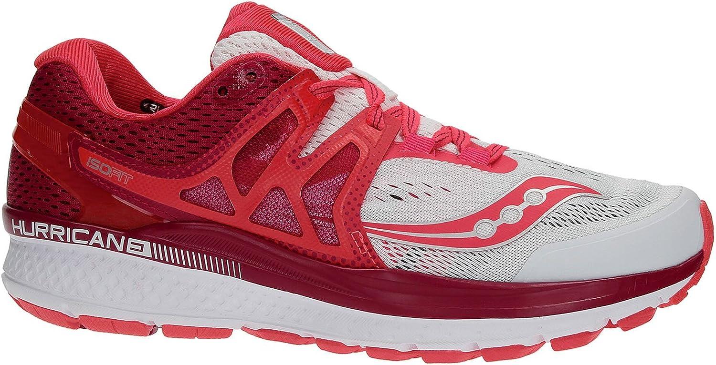 SauconyHURRICANE ISO 3 - Zapatillas Running de Estabilidad - White ...