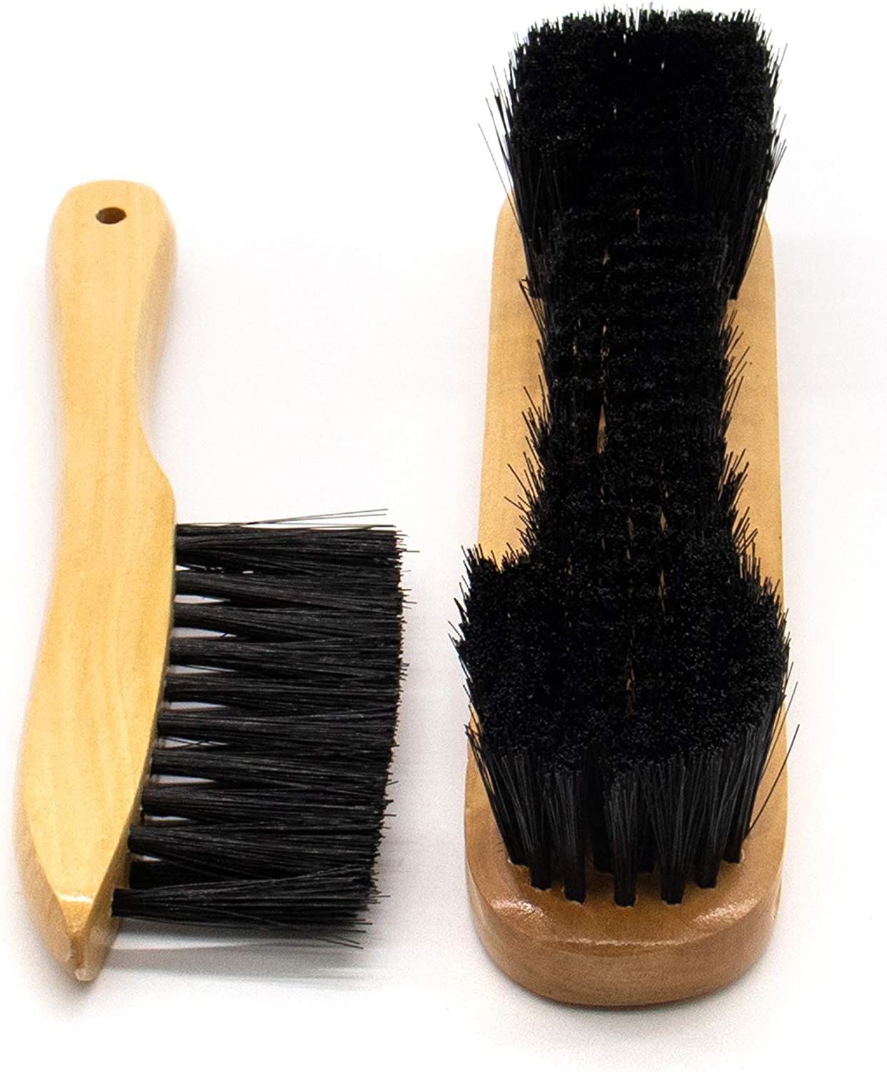 Set of 3 Billiards Pool Table and Rail Brush Set with Billiard Cue Shaft Slicker Cloth Cleaner AUEAR
