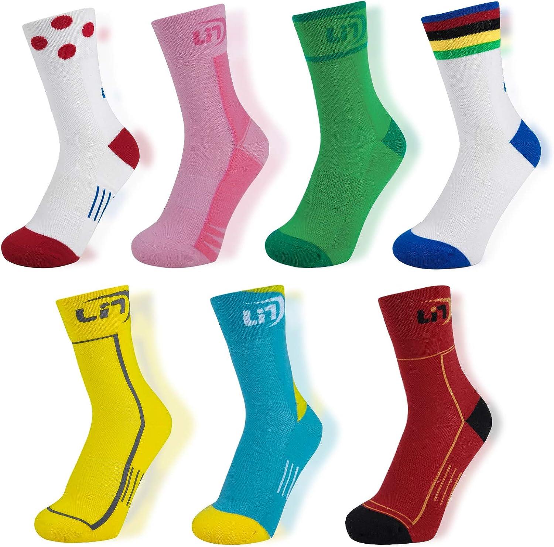 Men Women Cycling Socks Breathable MTB Bike Mountain Racing Riding Cotton Socks