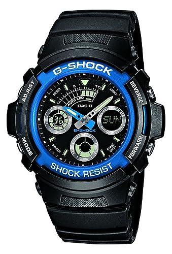 4304ededdd96 Casio Men s Analogue-Digital Quartz Watch with Resin Strap AW-591-2AER