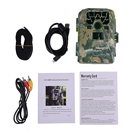 Por bestguarder SG-880 V HD impermeable IP66 Cámara de visión nocturna por infrarrojos Game & Trail Caza Scouting Ghost: Amazon.es: Bricolaje y herramientas