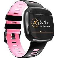 NotoCity Kompatybilny z Fitbit Versa 3 pasek / Fitbit Sense Band dla kobiet i mężczyzn, miękki silikonowy pasek sportowy…