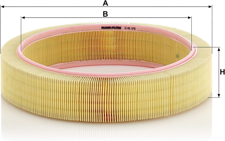 Original Mann Filter Luftfilter C 41 173 Für Pkw Auto