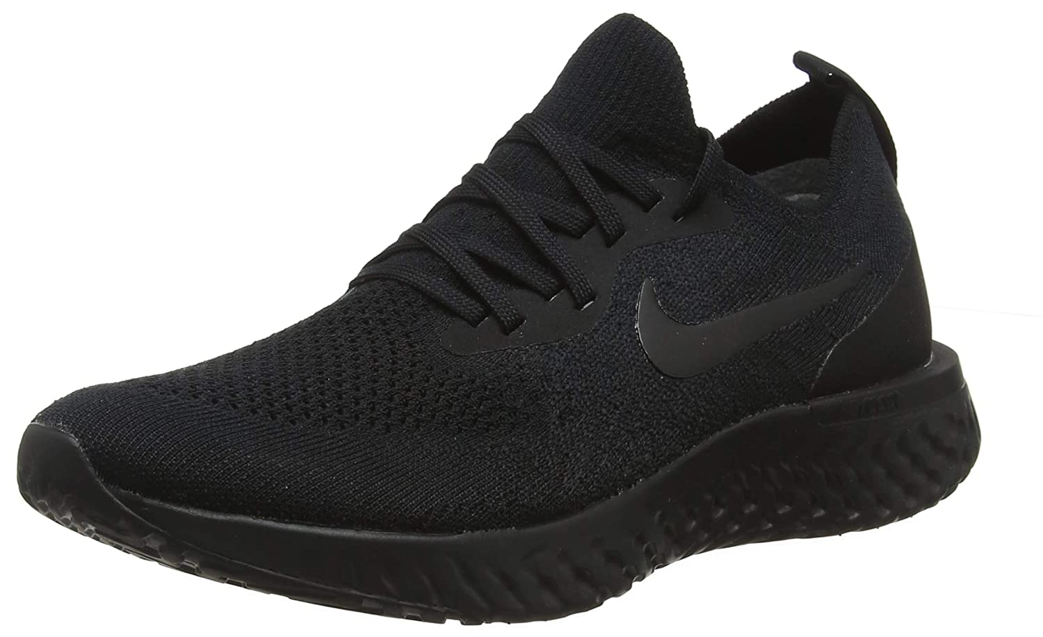 the latest aaac0 5ed94 Nike Epic React Flyknit Black