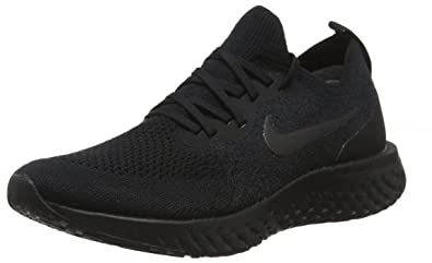 d07b4f11f3c2 Image Unavailable. Image not available for. Color  Nike Epic React Flyknit  Black