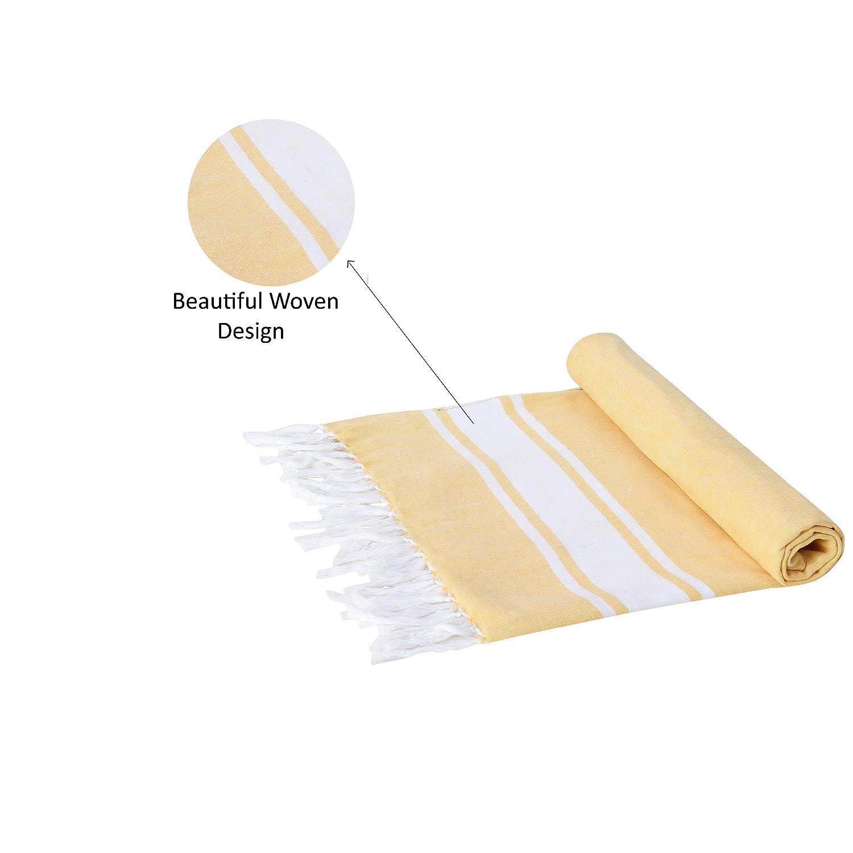 Asciugamani Utopia Teli Bagno Rajrang Set di 3 Teli Mare 100/% salice 2 Cotone per Uomo e Donna Taglia L152/_X/_W76 cm Rettangolare Telo Mare Uomo Telo Mare Turco