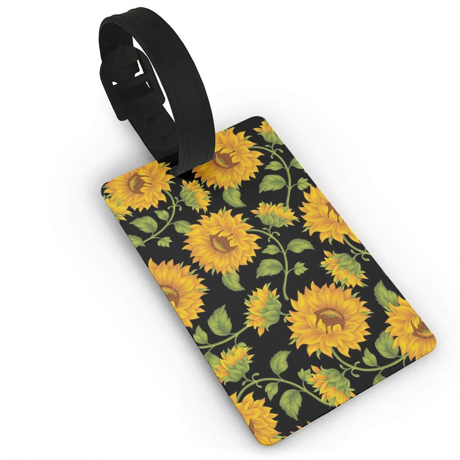 Beautiful Sunflowe.jpg,Label Cruise Instrument Bag Case Tags Travel Luggage Tag ID Identification Labels by HOTSELL-Makemoney.forever