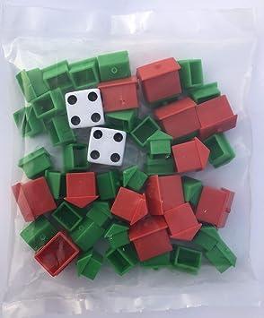Monopoly Hotel and House - Recambio de Recambio con Dados: Amazon.es: Juguetes y juegos