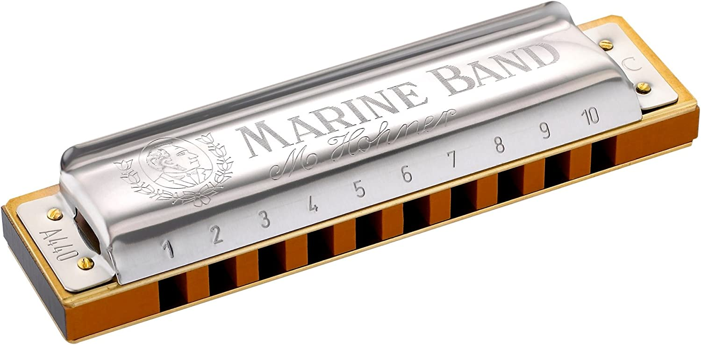 Hohner Marine Band Harmonica Diatonic 1896BX Blues Rock Pop Harp KEY OF G