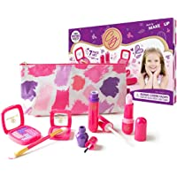 Pretend Makeup Starter Set from The Exclusive Glamour Girl Collection- Great for Little Girls & Kids (Made from Colored…