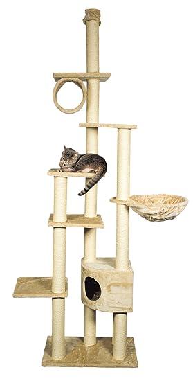 Trixie Poste Rascador Madrid, 245-270 cm, Beige: Amazon.es: Productos para mascotas