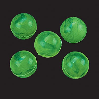 Glow In The Dark Bouncing Balls (4 dozen/48 balls): Toys & Games