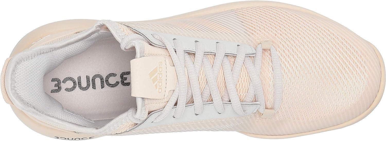 Adidas Defiant Bounce 2 W Chaussure de tennis pour femme Lin Lin Gris