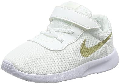 pretty nice 76366 a37b5 Nike 818383-100  Tanjun (TD) White Gold Sneaker (5 M