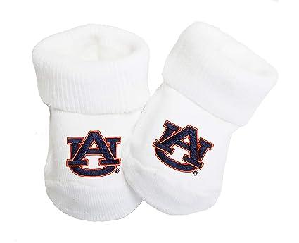 4ad0d40b3f2 Amazon.com  Future Tailgater Auburn Tigers Baby Toe Booties  Sports ...