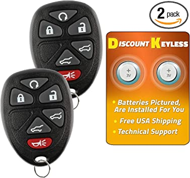 keyless remote starter fits Chevy Traverse 15 16 17 key fob car entry control