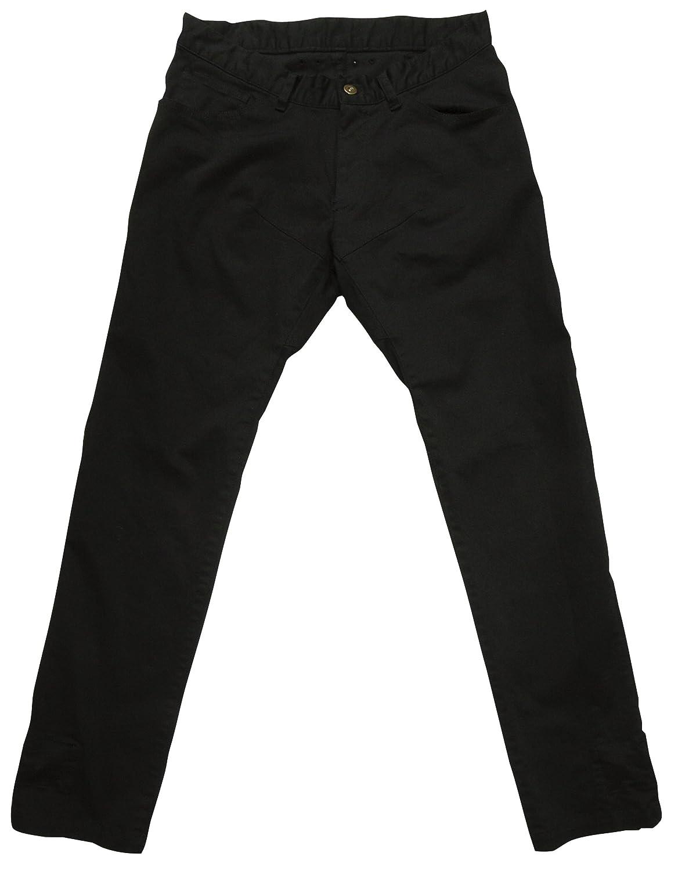 rin project(リンプロジェクト) ストレッチサイクル ロングパンツ 裾止め サドルパッチ 3001 ブラック S
