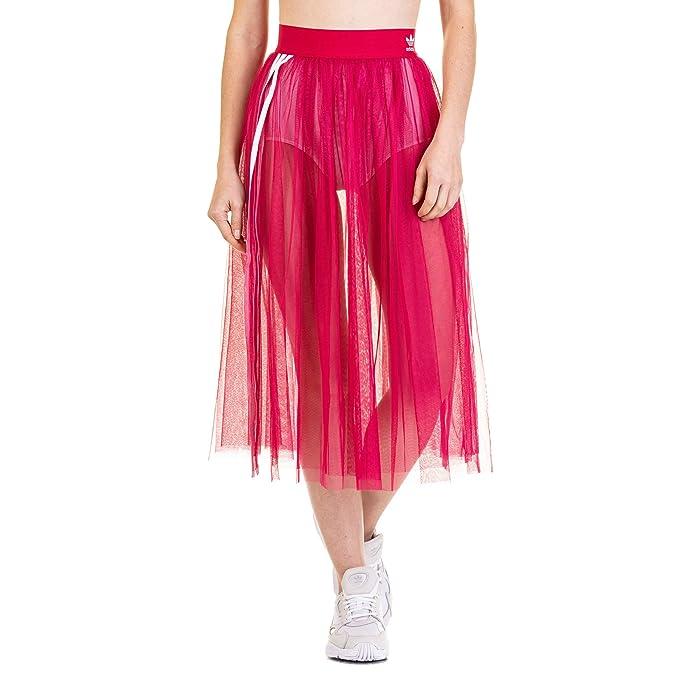 a7a9542a3 adidas Tulle Falda Mujer Rosa: Amazon.es: Ropa y accesorios