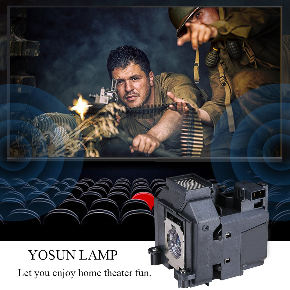 YOSUN Replacement Projector Lamp Bulb for Epson Elplp69 PowerLite Home Cinema 5020ub 5030ub 5025ub 5020ube 5030ube 5010E Pro Cinema 6030ub 6020UB 6010 4030 v13h010l69 Replacement Projector Lamp Bulb by YOSUN (Image #4)