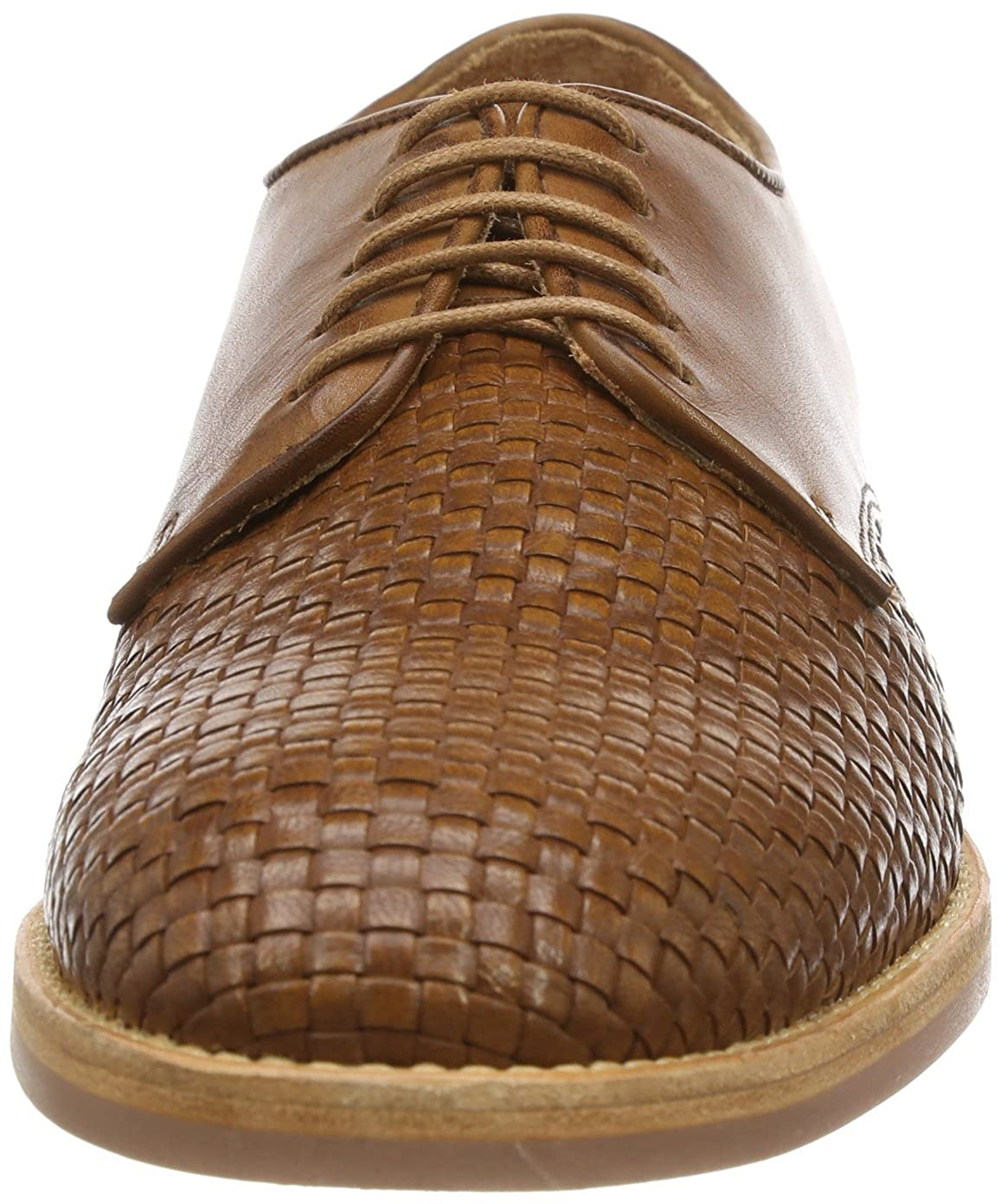 H By Hudson Men's Hadstone Calf Oxford Oxford Oxford 42 EU/9 M US|Tan Weave B00GZERBK2 895b76