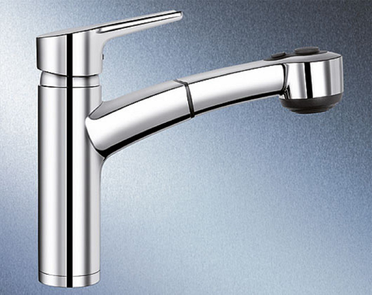 Blanco Merkur-S Küchenarmatur, chrom, 513711: Amazon.de: Baumarkt