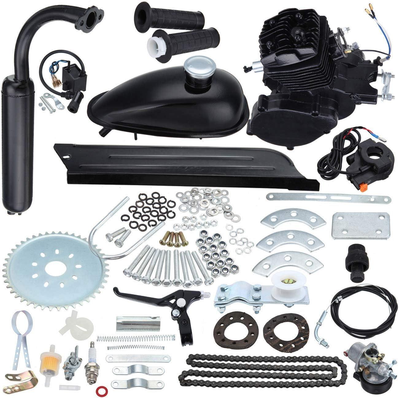 Ambiente 50cc 2 tiempos pedal ciclo gasolina gas motor bicicleta ...