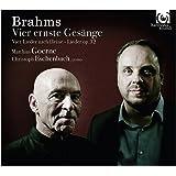Brahms:4 cantos serios/Lieder