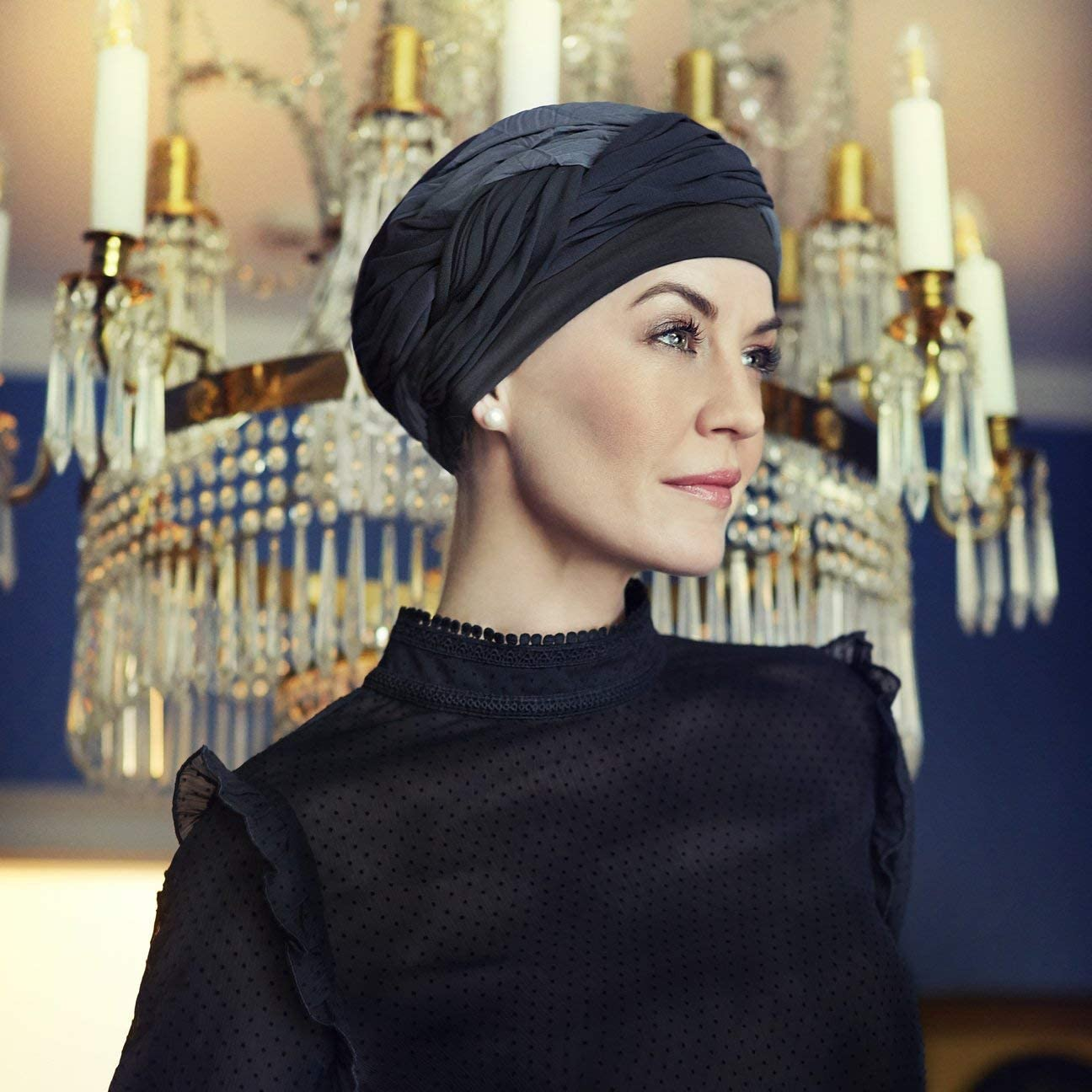 Christine headwear Turbante ChiffonHeadwear
