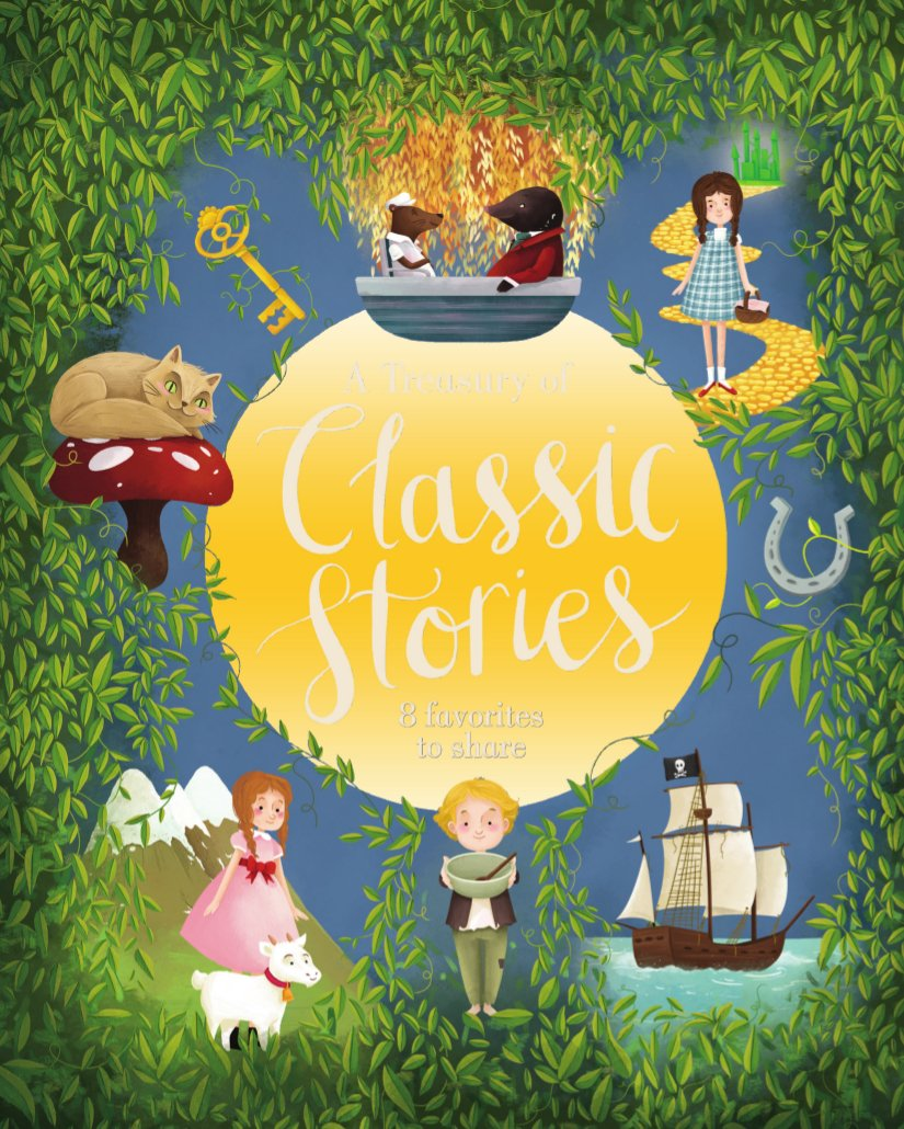 Read Online A Treasury of Classic Stories ebook